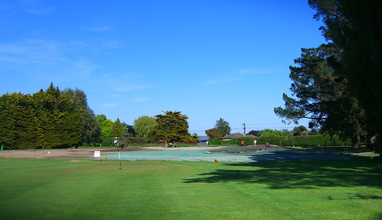 Tai tapu golf club canterbury kura golf course design for Landscape design courses christchurch nz